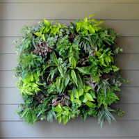 Living Wall Planters - PAMELA CRAWFORD LIVING WALL PLANTER W/LINER