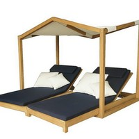 Canopy garden daybed BUTTERFLY by Deesawat Industries Co.