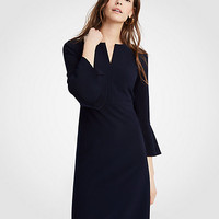 Flare Sleeve Sheath Dress | Ann Taylor