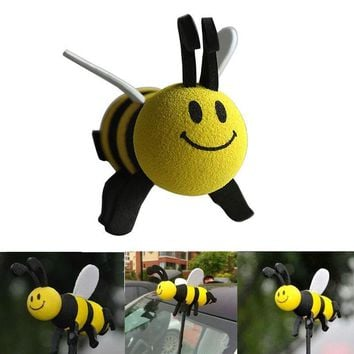 Cute Honey Bee, Piggy and Smiley Face Antenna Topper, BEE cause.....