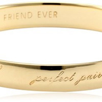 "kate spade new york ""Best Friend Ever"" Bridesmaid Idiom Bangle Bracelet"