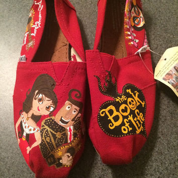 Book of Life themed TOMS