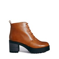 ASOS RIFF RAFF Leather Lace Up Ankle Boots