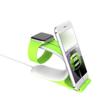 New Apple Watch Stand Multi Function Holder Charging Dock Charger Station For iPhone Tablet Pad Watch Stand For iPhone