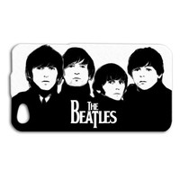 The Beatles Black and White Custom Case for iPhone 5/5s and iPhone 4/4s