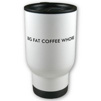 BIG FAT COFFEE WHORE COFFEE MUGS from Zazzle.com