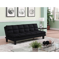 Walmart: Allegra Pillow-Top Futon, Black