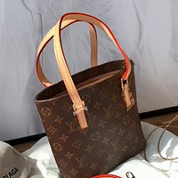 LV vintage classic presbyopia shopping bag tote shoulder bag