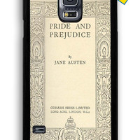Book Jane Austen New for Samsung Galaxy S5 Cover Rubber Case