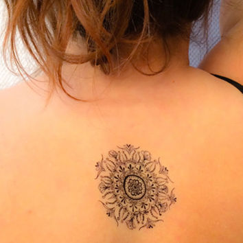 Mandala Temporary Tattoo (2 Pack)