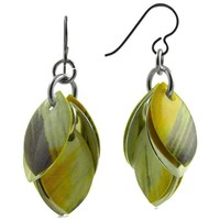 """It's All the Greige Earrings - One 2"""" Pair Ready to Ship"""