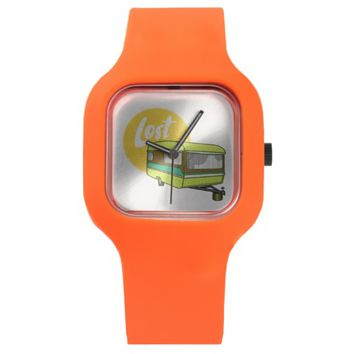 Caravan Lost Retro Camper Watch