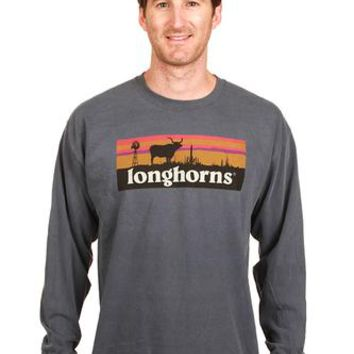 Comfort Colors Longhorn Skyline Long-Sleeve T-Shirt | Co-op