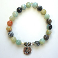 Tiffany Jazelle — Amazonite with Ampersand
