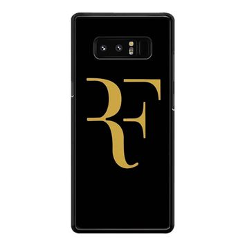 Roger Federer Gold Samsung Galaxy Note 8 Case