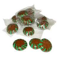 Chocolate Starlight Mints  1/2 lb