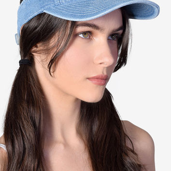 Velcro Denim Visor