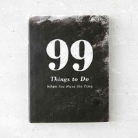 99 Things To Do By AD Jameson- Assorted One