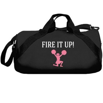 Fire it up cheerleader: Creations Clothing Art