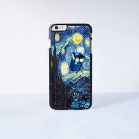 Doctor Who Stary Night Plastic Case Cover for Apple iPhone 6 Plus 4 4s 5 5s 5c 6