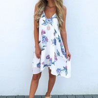 Summer Showers Dress: Multi