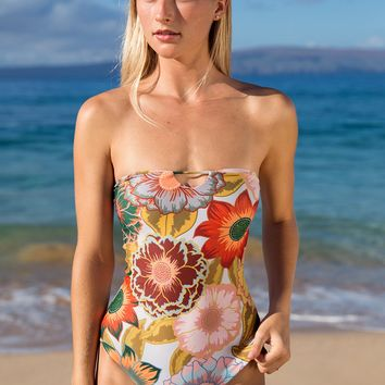 Stone Fox Swim 2018 Havana One Piece in Colora