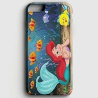 Princess Ariel And Flounder The Little Mermaid iPhone 7 Case
