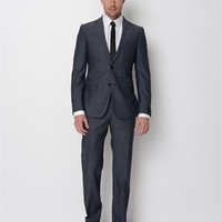 ZZegna Crosshatched City Suite - Men's Shop: Z Zegna - Modnique.com