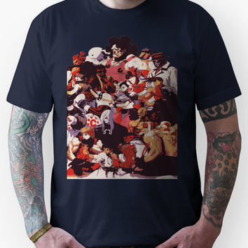 Street Fighter 3: 3rd Strike Cast Unisex T-Shirt