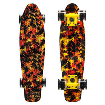 Led Graphic Penny Style Cruiser Board 22 inch Africa Plastic Fish Skateboard