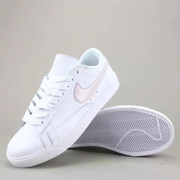 Wmns Nike Blazer Low Sd Women Men Fashion Casual Low-Top Old Skool Shoes-1