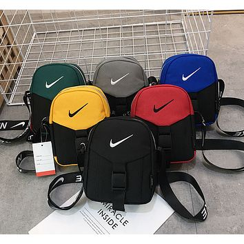 NIKE Wallet Travel Zero Wallet Leisure Single Shoulder Slanting Bag Sports Breastpack for Men and Women