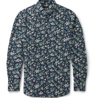 J.Crew - Printed Button-Down Collar Cotton Shirt | MR PORTER