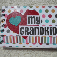 4x6 Chipboard Grandchildren Scrapbook Photo Album