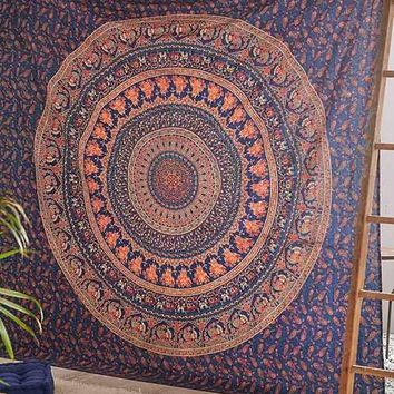 The Eberlee Large Hippie Mandala Bohemian Wall Tapestry