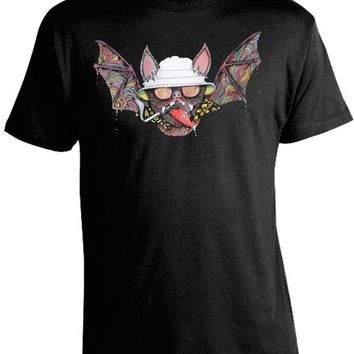 Hunter S. Thompson Psychedelic Bat T-Shirt