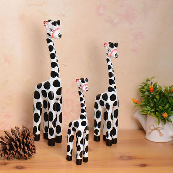 Animal Gifts Nordic Wood Crafts Decoration = 5893979905