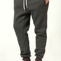 Charcoal Cuffed Joggers