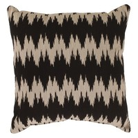 Gopala Toss Pillow Collection - Black/Gray