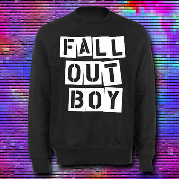 Special Custom Fall out Boy Sweater For Boys and Girl