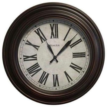 ONETOW 20' Roman Numeral Wall Clock