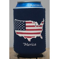'Merica Koozie in Navy by Rowdy Gentleman