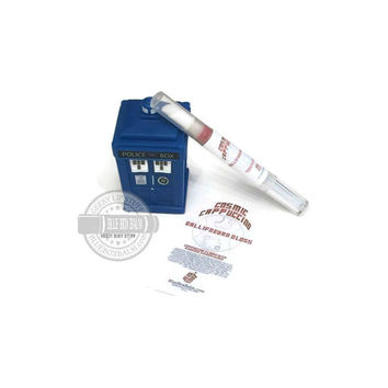 Cosmic Cappuccino Gallifreyan Gloss - Cappuccino Flavored / Cosmic Sienna Colored Lip Gloss - Doctor Who Inspired