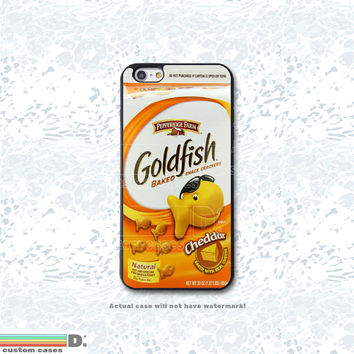 Goldfish, Custom Phone Case for iPhone 4/4s, 5/5s, 6/6s, 6/6s+, iPod Touch 5