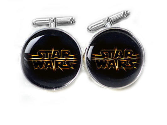 Black Star Wars Cufflinks Personali.. on Luulla