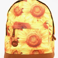 Mi-Pac Sunflowers Backpack - Sunflower Yellow