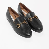 & Other Stories | Horsebit Buckle Loafers | Black