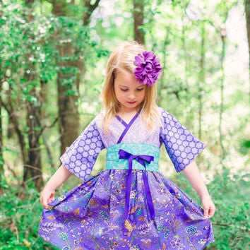 Big Girls Dress - Sizes 10, 12 and 14 - Preteen Dresses - Girls Tween Dress