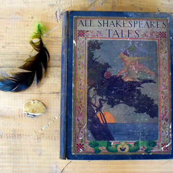 Etsy Transaction -          Antique Book  All Shakespeare's Tales Rare 1911 First Edition