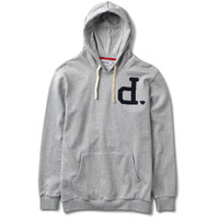 Diamond Supply Co. - Un-Polo Hooded Pullover - Heather Grey
